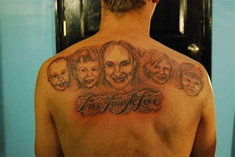 tattoo family photography david zobel tattoo artist waynes family portrait