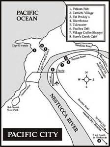 map of pacific city oregon oregon coast travel guide pacific city