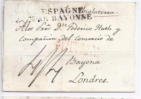 Brief Schweiz Nach Spanien Spanien Gb 1827 L2 Guipuzcoa Villareal In Rot Auf Brief Nach 379 183 Heiner Zinoni