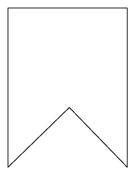 printable paper bunting template square bunting pattern use the printable outline for