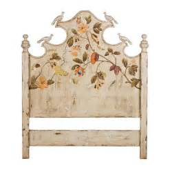 garden cottage painted headboard
