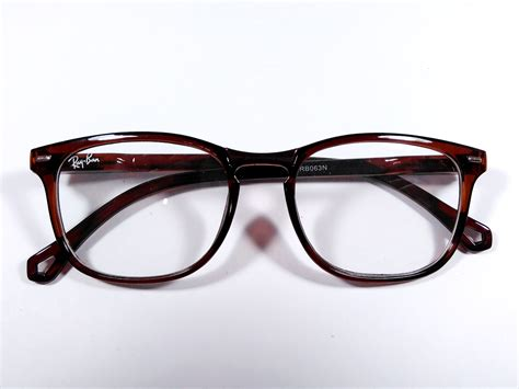 Frame Lensa Rb 6240 Brown Kacamata Murah Cokelat Frame Kacamata Ban Retro Brown 603 Kmp Rb603brw