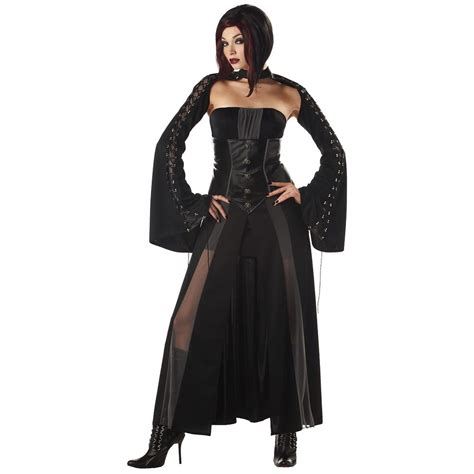 gothic costumes adult sexy gothic halloween costume vire costume adult gothic viress halloween fancy