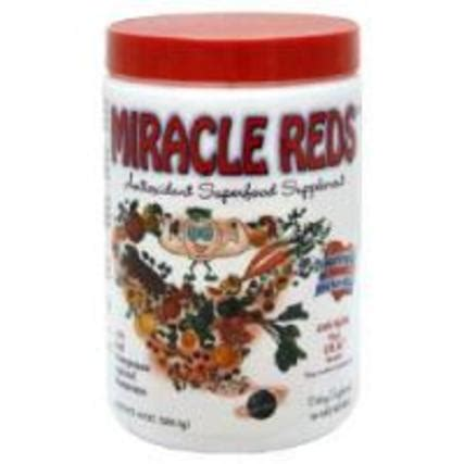 The Detox Miracle Sourcebook Summary by Macro Naturals Miracle Reds Antioxidants