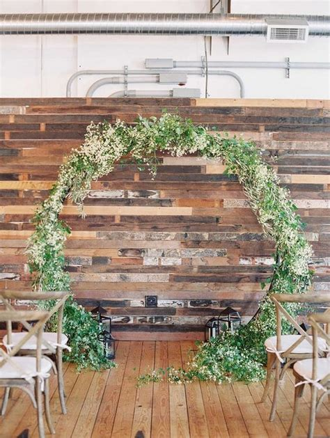 Wedding Arch Circular by Top 20 Pretty Circular Wedding Arches For 2018 Trends