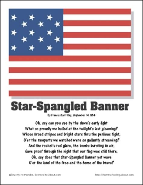 coloring page of the star spangled banner 29 best star spangled banner images on pinterest star