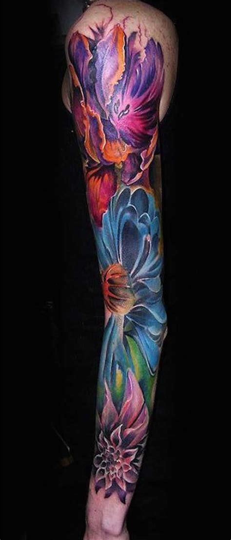 women sleeve tattoos flower floral sleeve tattoos 30 fabulous floral sleeve tattoos for women floral