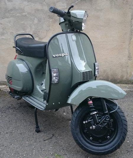 Auto Lackieren Mit Roller by Vespa Px125 Lackierung Ral 7009 Gr 252 Ngrau Hobbies