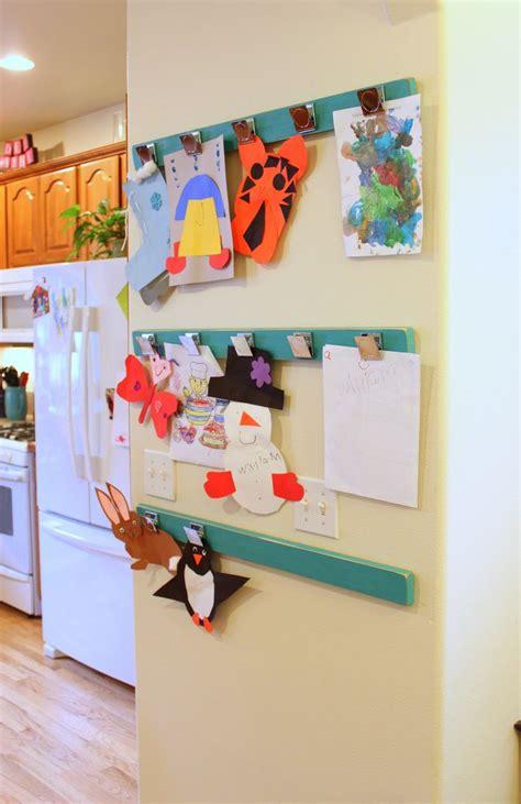 kids wall ideas 25 best ideas about display kids art on pinterest