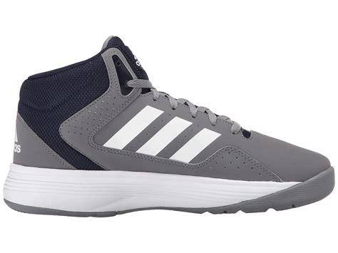 Adidas Cloudfoam Grey Denim adidas originals cloudfoam ilation mid in gray for lyst