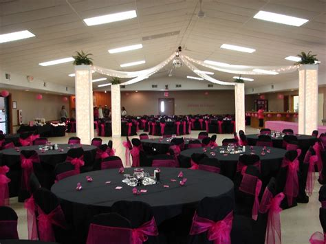 pink and black home decor hot pink black july wedding weddings style and