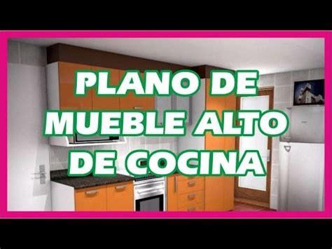 plano de mueble alto de cocina youtube