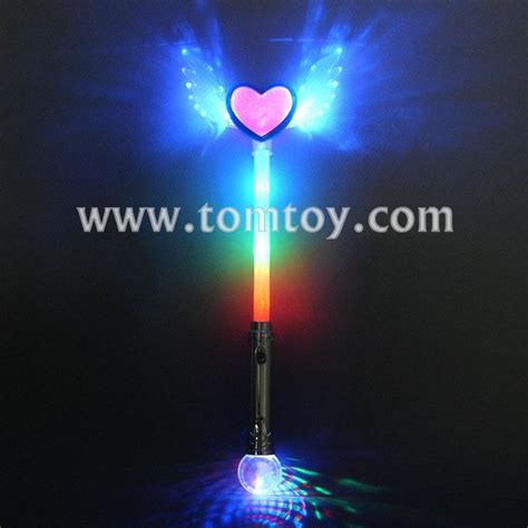 light up angel light up angel wing heart wand tomtoy
