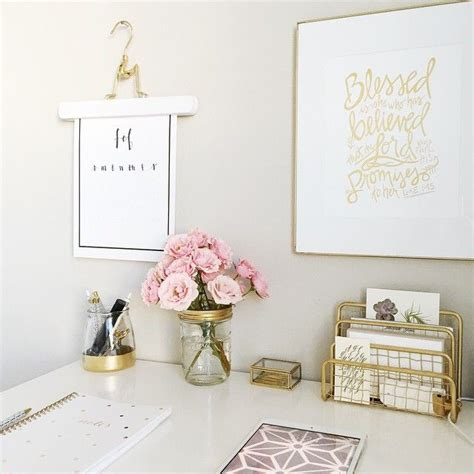 chic office decor 25 best ideas about gold desk accessories on gold office gold office decor and