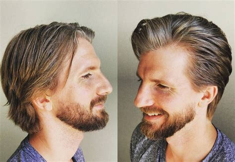 hair styles with one inch hair for men best medium length men s hairstyles 2017