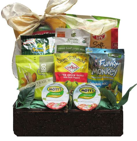 savory vegan gift basket sweet and salty to hot and spicy