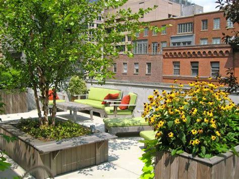 beautiful terrace garden images