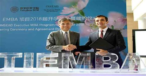 Tsinghua Mba Program by Tiemba World S Most Popular Executive Mba Extended For