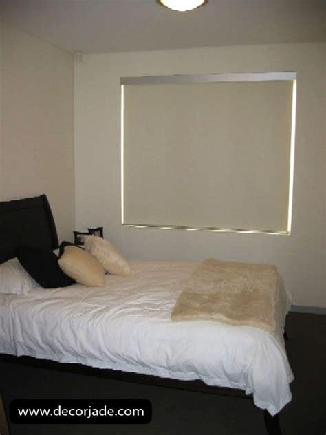 cortinas roller en tela black  color crema