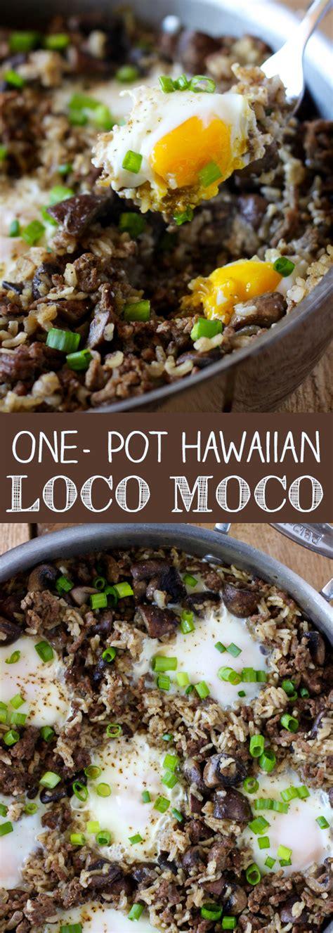 hawaiian comfort food one pot hawaiian loco moco no 2 pencil