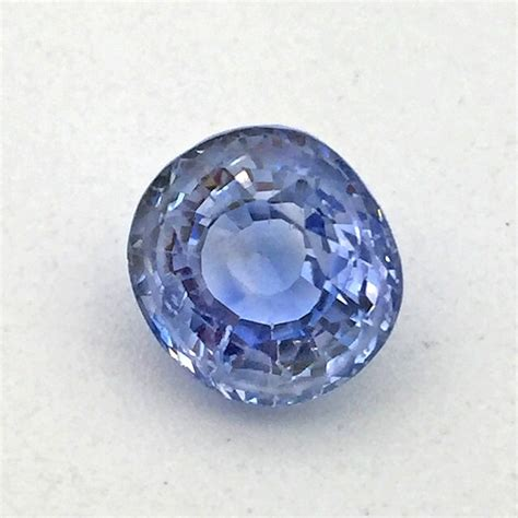 Blue Safire 6 49 carat blue sapphire neelam gemstone