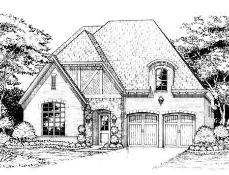 old world cottage house plans old world cottage 15395hn architectural designs house plans