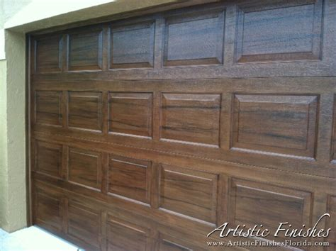 faux garage door painting faux finish garage doors in west palm artistic