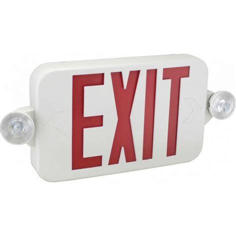 eecmpl exit sign emergency light combo exit