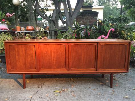 credenza teak modern teak credenza modern flamingo