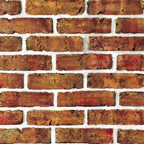 Zc Wallpaper Sticker Brown Brick Texture brown brick self adhesive wallpapers wallstickery