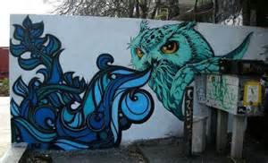Owl Wall Mural Owl Mural By Turbo Benson On Deviantart