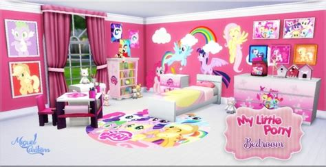 pony room my pony bedroom at victor miguel 187 sims 4 updates