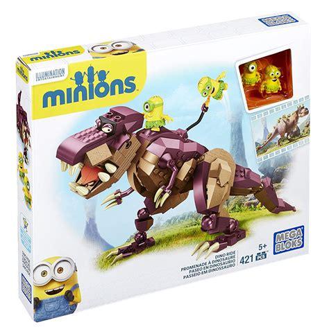 Lego Big Dinosaurus Minion Mega Bloks Minions Dino Ride Building Set