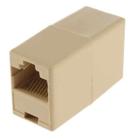 Rj45 Lan Networking Connector new rj45 cat 5 5e ethernet lan cable joiner coupler connector fw ebay