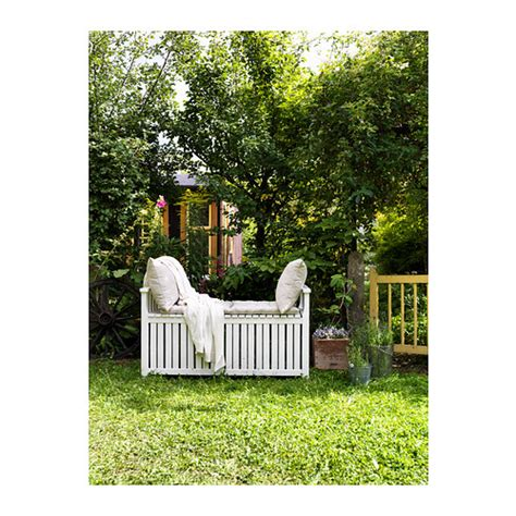 ikea outdoor storage bench 196 ngs 214 storage bench outdoor white stained ikea