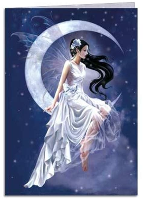 Gothic Wall Stickers greeting card frost moon fairy tree free greetings