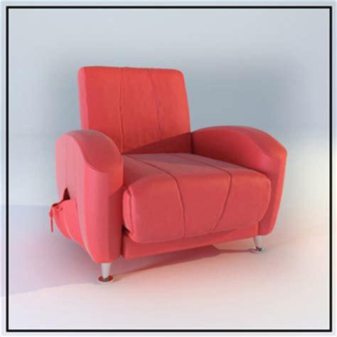 Individual Sofa by Rosy Individual Single Sofa Model 3d Model Free