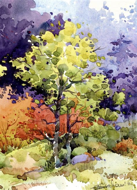 Watercolour Landscape Artists Uk Natalie Graham Watercolour Landscape Artists