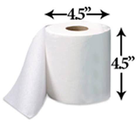 toilet paper sheet dimensions general