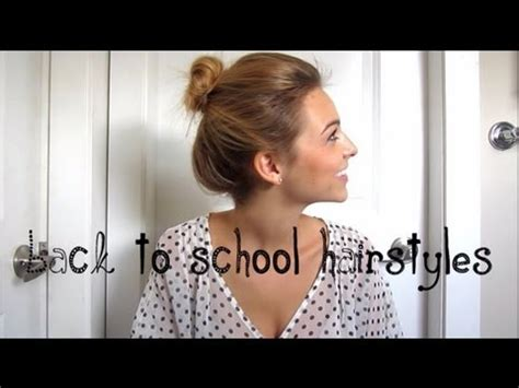 8 killer back to school hairstyles for hair back to school hairstyles