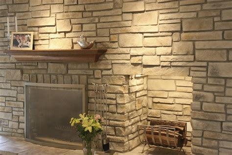 Modern Fireplace Electric faux stone fireplace is a budget solution for your home