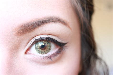 Spooky Trend Colored Contacts by Review Spooky Contact Lenses Simple Stylings