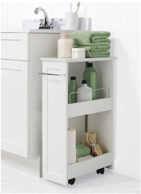 small bathroom cart small narrow cart on wheels laundry room bathroom craft