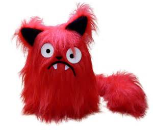 Boris the red cat pattern stuffed animal pdf sewing with faux fur