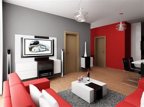 modern minimalist small apartment living room design decobizz