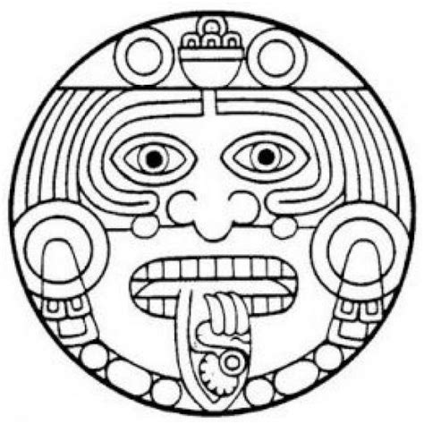 aztec sun god tattoo designs quality aztec sun design