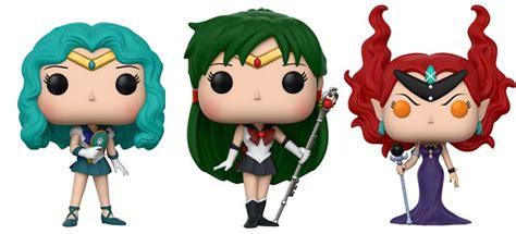 Sale Funko Pop Animation Sailor Moon Sailor Neptune 298 the sailor moon funko pop s and keychains are