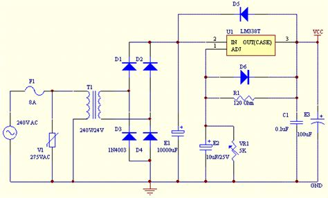 integrated circuit security techniques using variable supply voltage 2v 25v dc power supply schematic