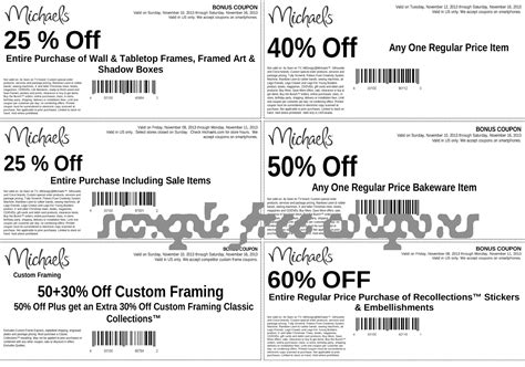 michaels printable coupons 2014 must print coupons for the ff
