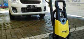Harga Alat Cuci Motor Rumahan cara kerja dan harga alat cuci steam mobil merek krisbow